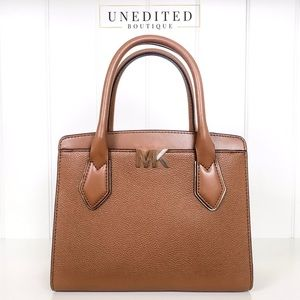 Michael Kors Montgomery Leather Satchel Handbag